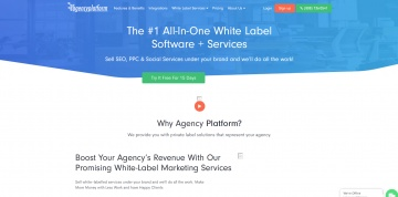 Agency Platform Cashback