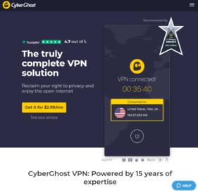 CyberGhost VPN Cashback
