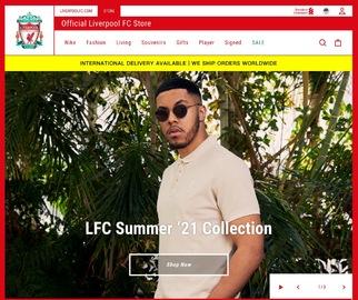 Liverpool FC USA Cashback