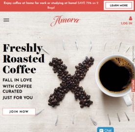 Amora Coffee 返利