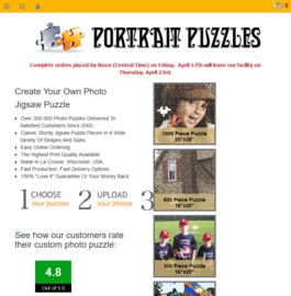 Portrait Puzzles Cashback