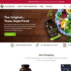 Texas Superfood Cashback