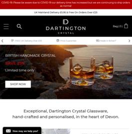 Dartington Crystal Cashback