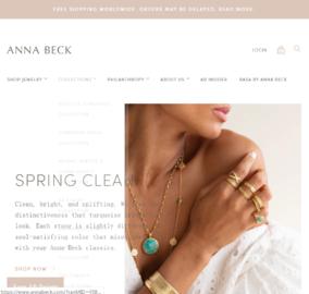 Anna Beck Cashback