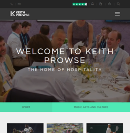 Keith Prowse Cashback