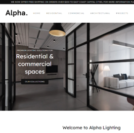 Alpha Lighting and Electrics Cashback