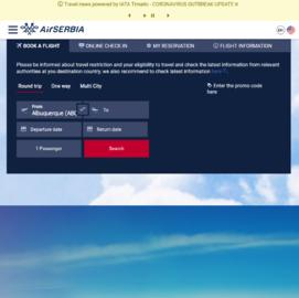 Air Serbia Cashback