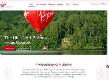 Virgin Balloon Flights Cashback