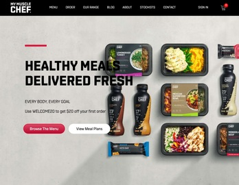 My Muscle Chef Cashback