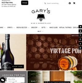Gary's Wine & Marketplace Cashback