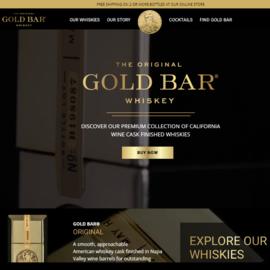 Gold Bar Whiskey Cashback