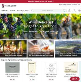 Wine.com 캐시백