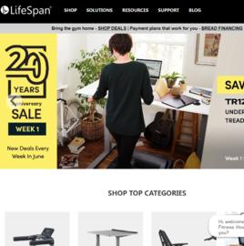 LifeSpan Cashback