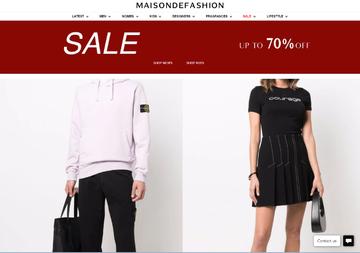 Maison De Fashion Cashback