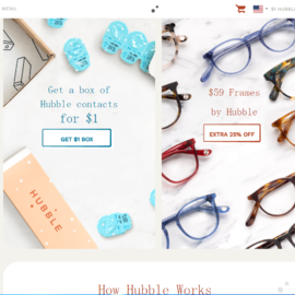 Hubble Contacts Cashback