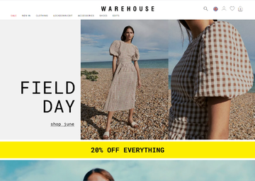 Warehouse UK Cashback