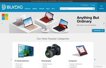 "Buydig.com - SAMSUNG 75"" QLED Q90T 4K HDR 智能電視 2020款,直降$2000"