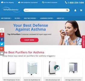 Air Purifiers America Cashback