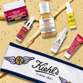 Verlängert! Kiehl's - $20 Rabatt ab $65 + Kostenlose Geschenk-Box ab $85