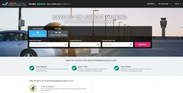 Airport Parking Reservations 返利