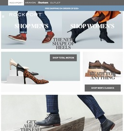 Rockport 官網黑五大促精選時尚鞋履特賣