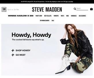 Steve Madden   史蒂夫·马登 現金回饋