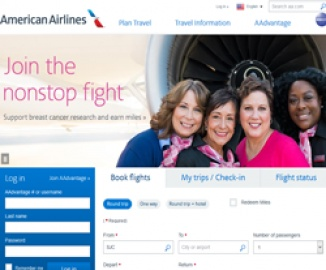 American Airlines | 美国航空公司 返利