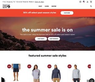 Mountain Hardwear 精选男女款夹克、卫衣、羽绒服等特价热卖