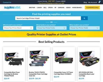 Supplies Outlet Cashback