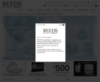 Reeds Jewelers 返利