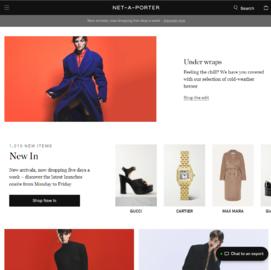 NET-A-PORTER | 頗特女士 現金回饋