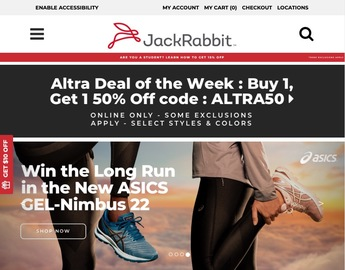 JackRabbit官網 New Balance 860v7運動鞋2.4折熱賣