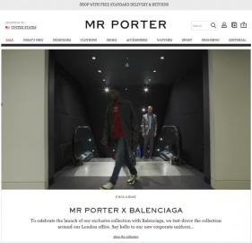 MR PORTER UK 返利