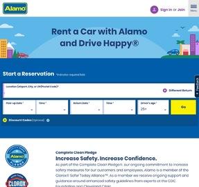 Alamo Rent A Car 返利