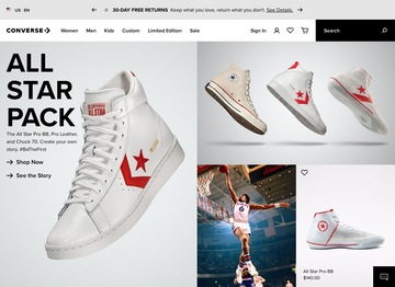 Converse x Millie Bobby Brown Collection @ Converse UK