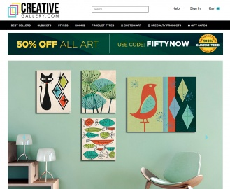 Creative Gallery Cashback