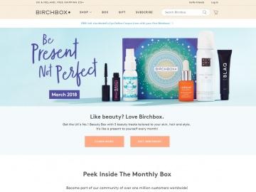 Birchbox UK 返利