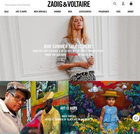 Zadig & Voltaire | 쟈딕 앤 볼테르 캐시백