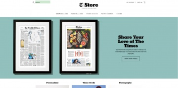 The New York Times Store 캐시백