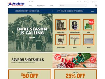 Academy Sports + Outdoors Cashback