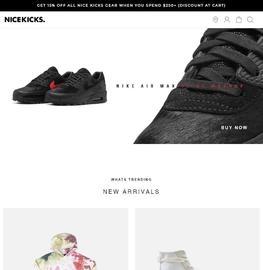 Nice Kicks Cashback
