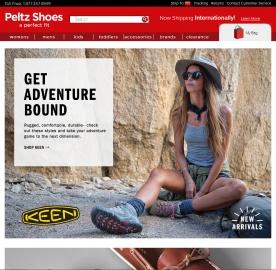 Peltz Shoes官網 清倉區精選鞋靴促銷( Timberland、Puma、Vans等品牌)