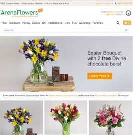 Arena Flowers Cashback