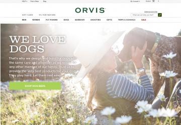 Orvis UK Кэшбэк