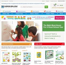 Carson-Dellosa Publishing 返利