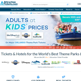 Attraction Tickets Direct 返利