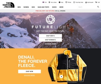 The North Face UK   北面 英国 返利