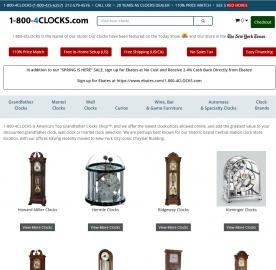 1-800-4Clocks.com Cashback