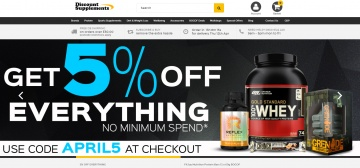Discount Supplements Cashback