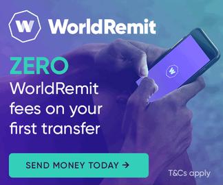 World Remit Cashback